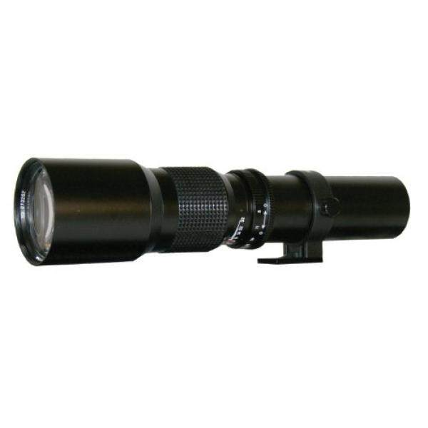 Rokinon 500 P 500 Mm F/8 Preset Lensa Telefoto (Hitam)-Intl