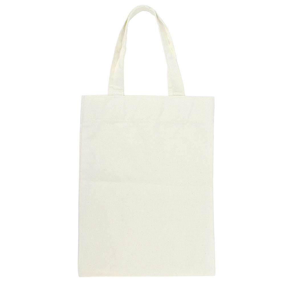 yedatun Washable Customizable Large Grocery Tote Reusable Shopping Bag Blank Canvas Bags Support Logo Printing,Creamy White