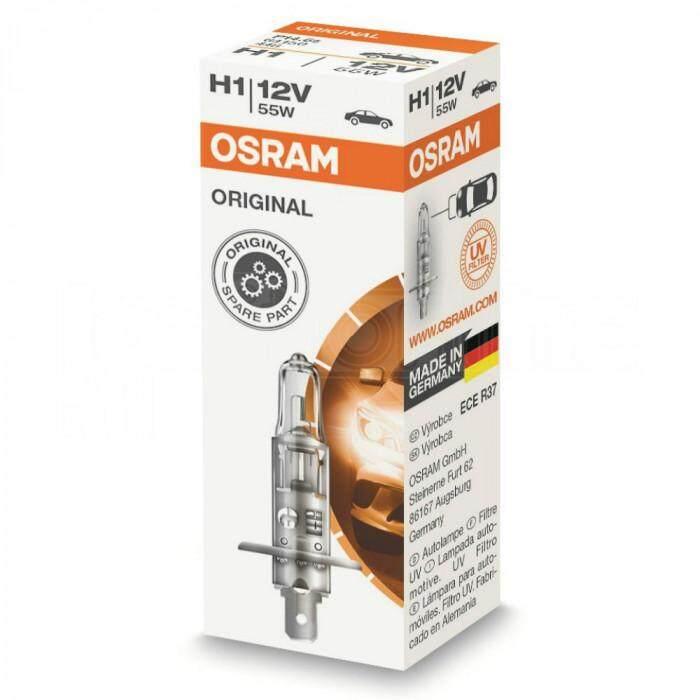 Original Osram H1 Halogen Light Car Light Made in Germany 60/55W