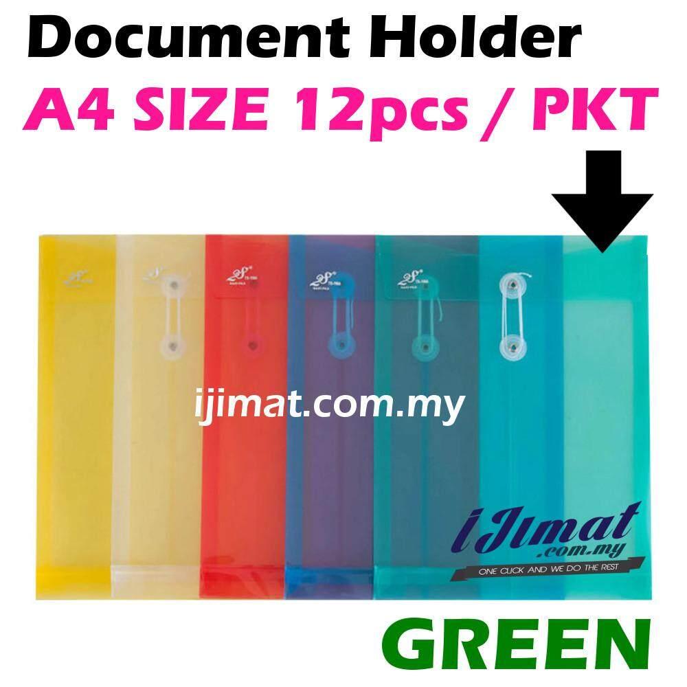 I JIMAT East-File TS-118A TS118A 118A Envelope File Colour Document Holder 12pcs/pack (GREEN) Color