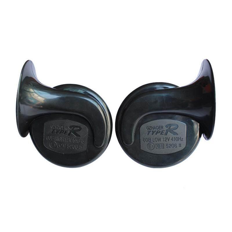 1 Pasang 2 V 150db Suara Loud Klakson Otomatis Pembicara Alarm Kendaraan Perahu Mobil Motor Motor Van Truk Siren