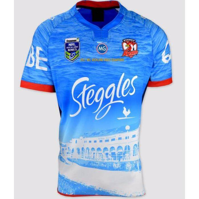 Sydney Roosters Home Sublimation Rugby Jersey