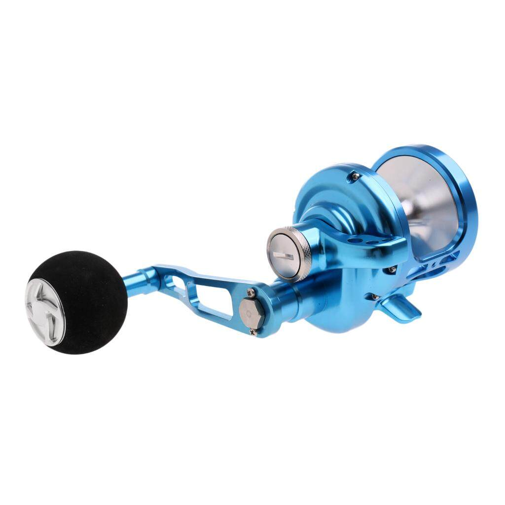 MagiDeal Offshore Boat Fishing Drum Reel Powerful Jigging Trolling Fishing Reel 9+2BB - intl
