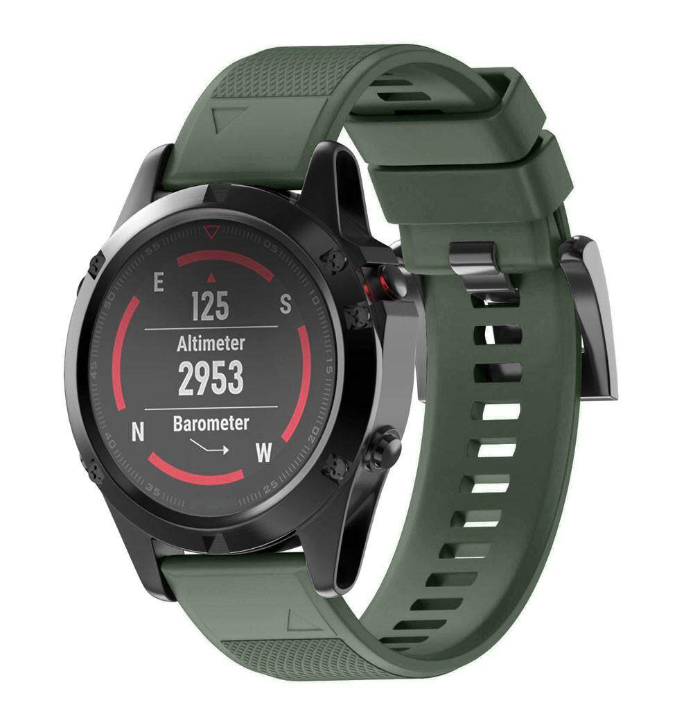Replacement Silicagel Quick Install Band Strap For Garmin Fenix 5 GPS Watch AG honioer - intl - 4