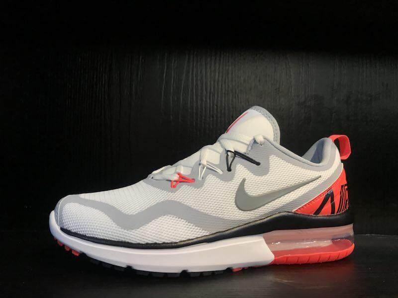 Nike Men's And Women's Air Max 270 Running Sneakers Grey Red EU36-44 - intl