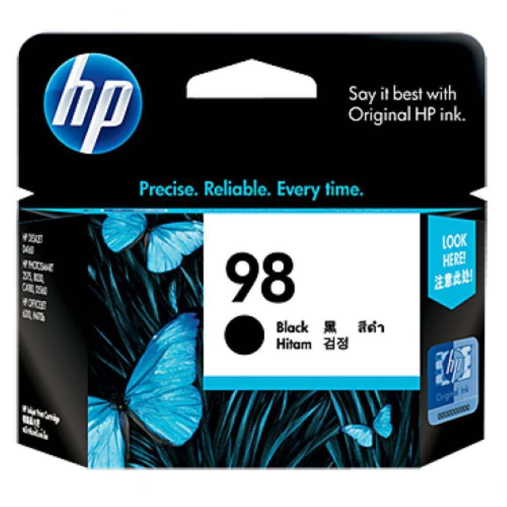HP 98 Black Inkjet Print Cartridge (C9364WA)