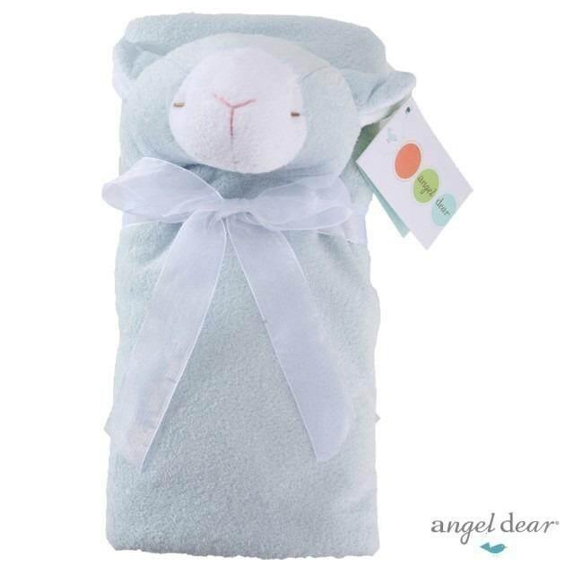 Angel Dear Blue Lamb Napping Blanket