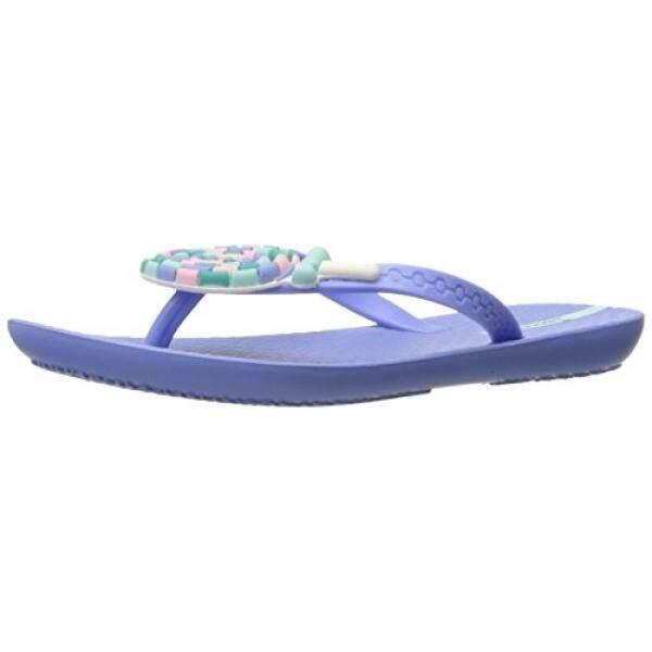 Ipanema Girls Lolly Flip Flop, Blue, 12 M US Little Kid - intl