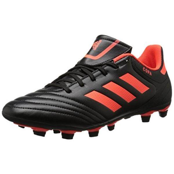 huge selection of d72a7 3d1a5 adidas Performance Mens Copa 17.4 FxG Soccer Shoe, Black Solar Red Solar Red