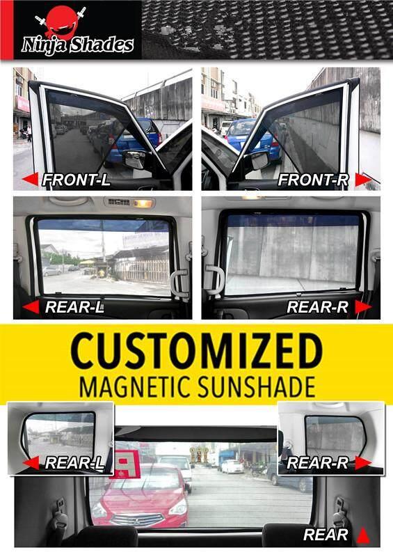 Toyota Fortuner OLD Magnetic Ninja Sun Shade sunshade (7PCS)
