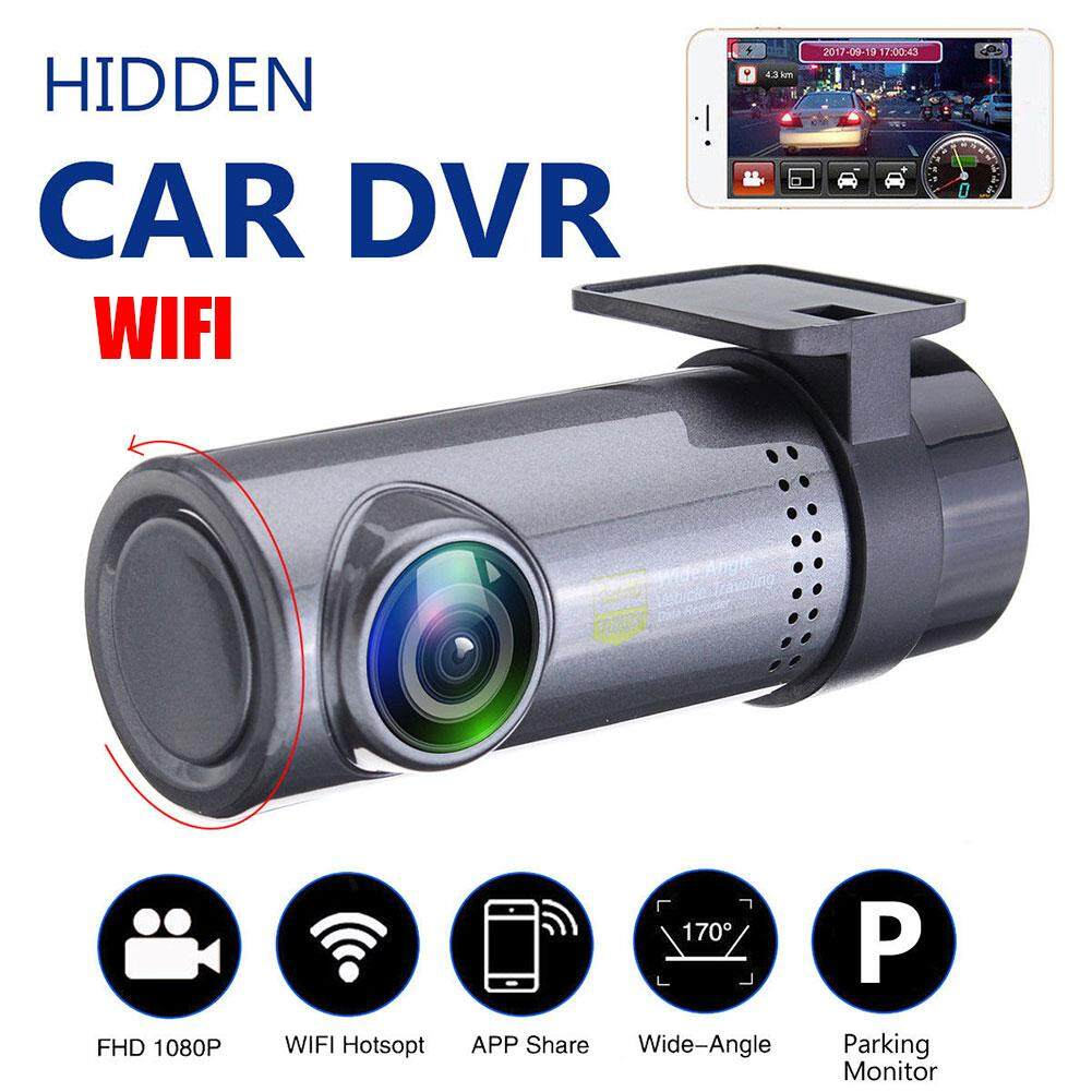 Brand New Upgrade Mini 1080P Hd 360 Rotation Wifi Hidden Car Dvr Dash Cam Video Recorder Camera Intl