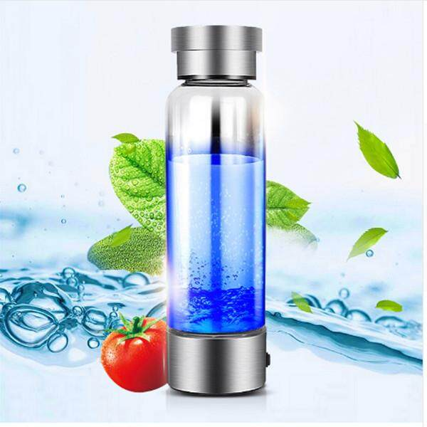 Discount Portable Hydrogen Generator Ionizer For Pure H2 Rich Hydrogen Water Bottle Electrolysis Hidrogen 350Ml Drink Hydrogen Water Usb Intl China