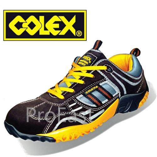 Colex Sly-500 Uk 9 Sporty Safety Shoes/ Kasut Inustrial 9 By Proeast.