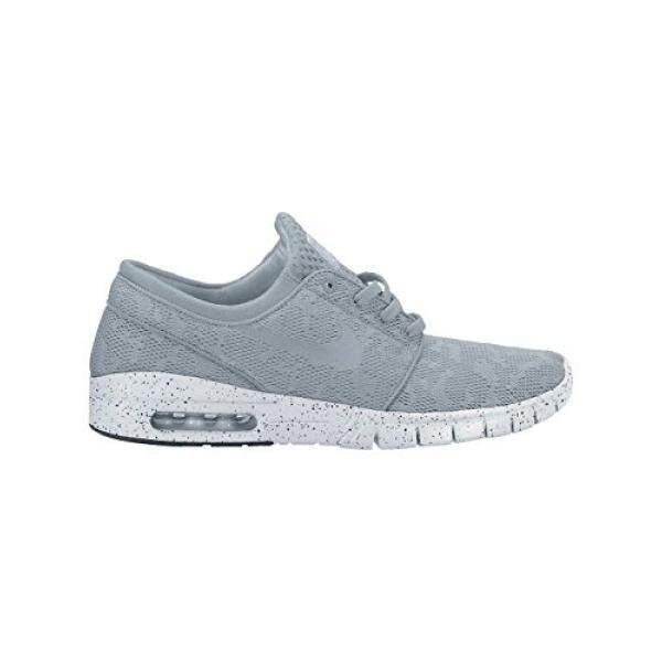 Nike Mens Stefan Janoski Max Wolf Grey/Wolf Grey/White Running Shoe 8 Men