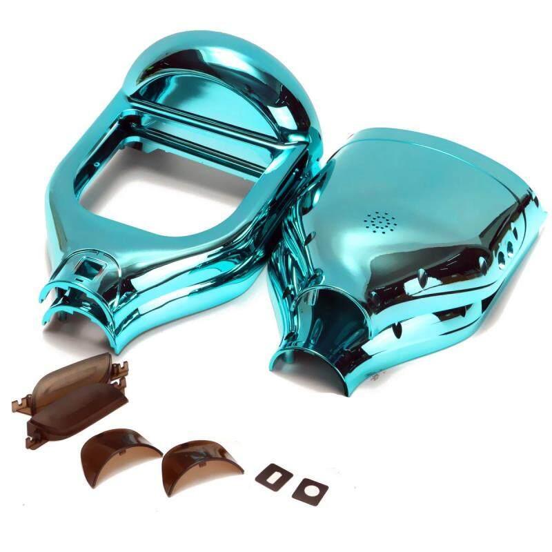 Phân phối Vỏ Ốp Tự Làm Màu Xanh Crôm Cho Xe Điện 6.5 Hoverboard + Bumper-