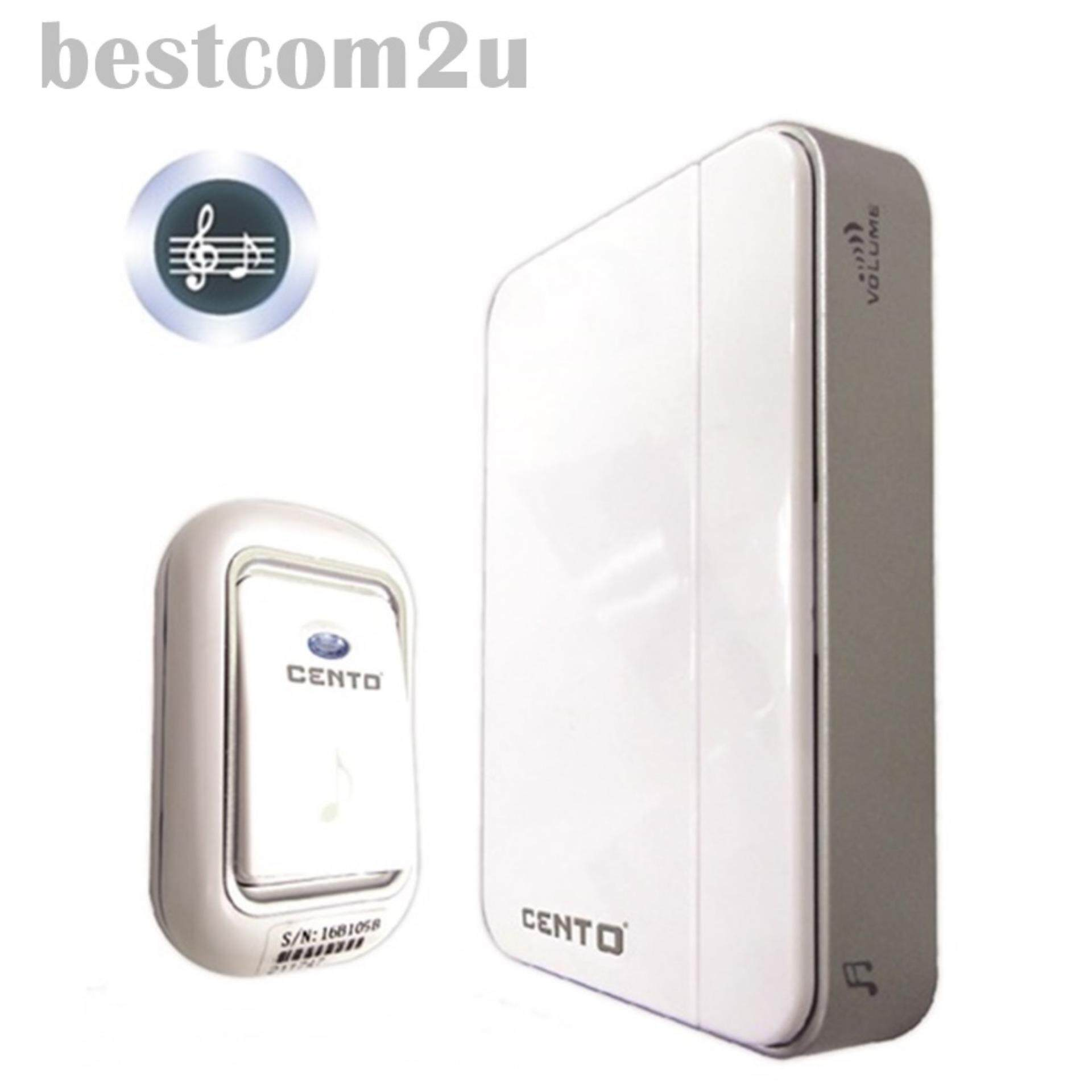 Harga Murah Wireless Door Bell 36 Melody Home Smart Alarm