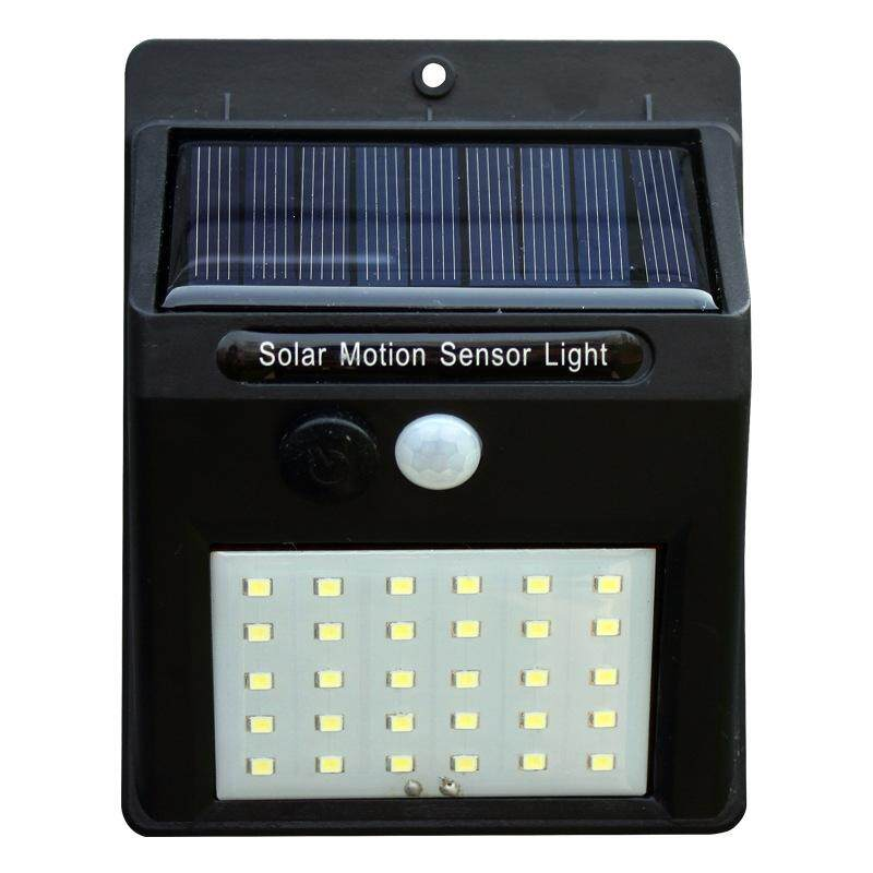30 Led Solar Lights Outdoor Waterproof Garden Path Lighting Solar Powered Motion Sensor Light Wireless Security Lights Outside Wall Lamp Lowest Price