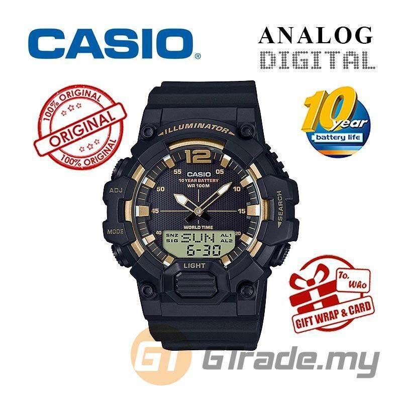 CASIO MEN HDC-700-9A Analog Digital Watch | 10-Year Battery Malaysia