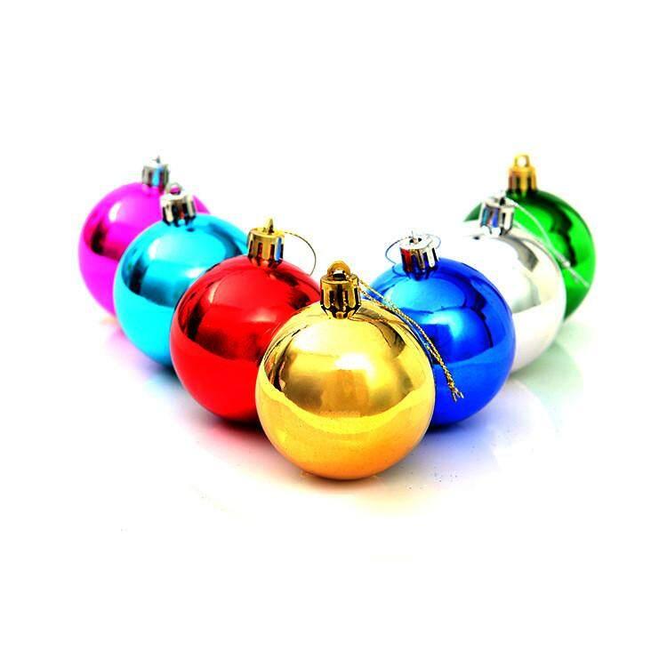12Pcs Christmas Balls Baubles Party Xmas Tree Decorations Hanging Ornament Decor