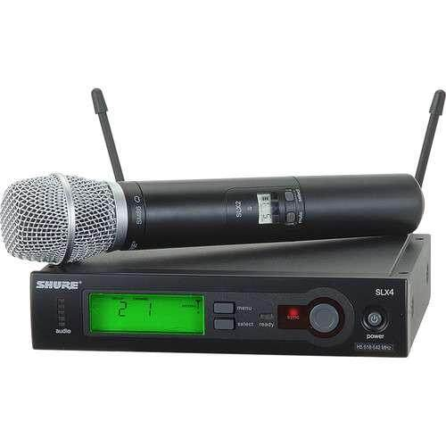 Shure SLX24/SM86 Series Wireless Microphone System