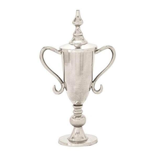 Benzara 47582 Luar Biasa Wadah Aluminium Trophy-Internasional
