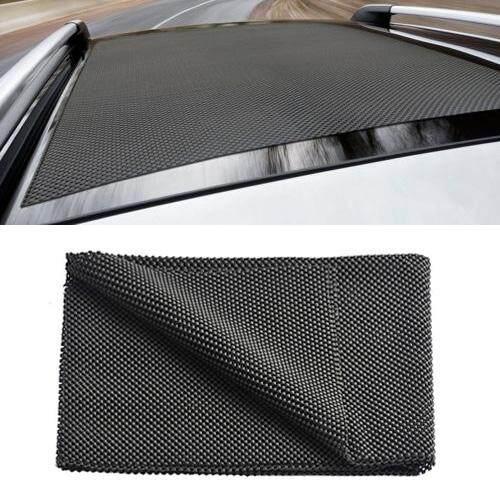 Best Car Roof Cargo Bag Non Slip Shockproof Protective Grid Mat Size 100 90Cm Intl