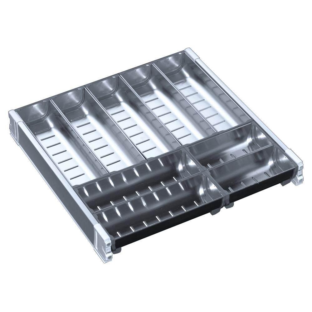 Stainless Steel Cutlery Organiser 447mm
