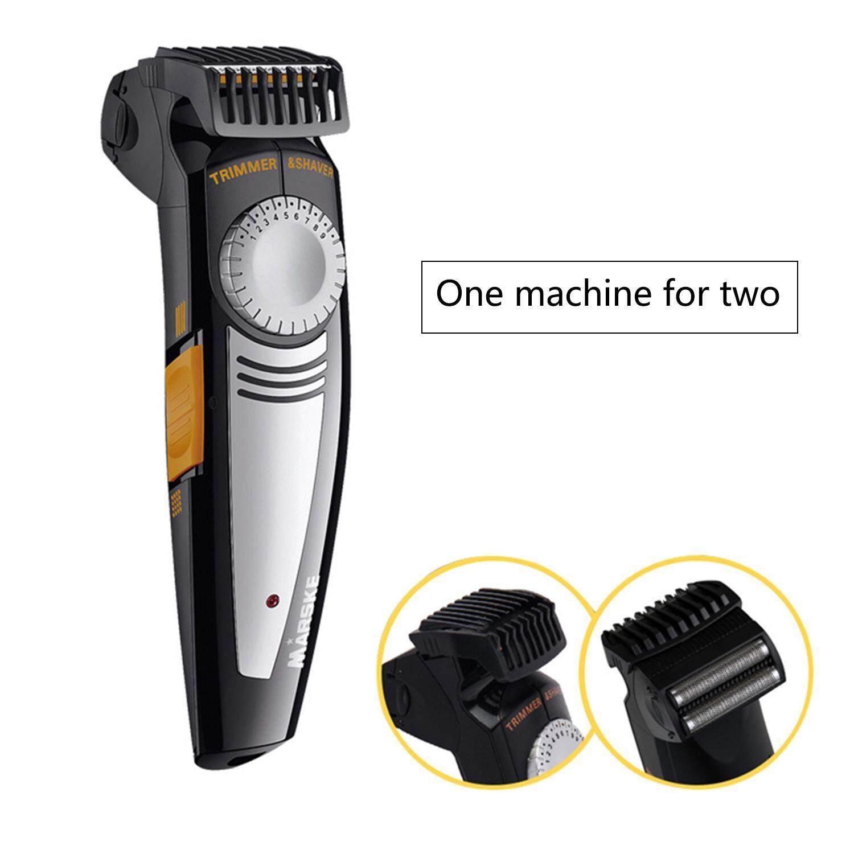 Kobwa Portable Electric Beard Trimmer Bald Head Shaver Hair Clipper,us Plug - Intl By Kobwa Direct.