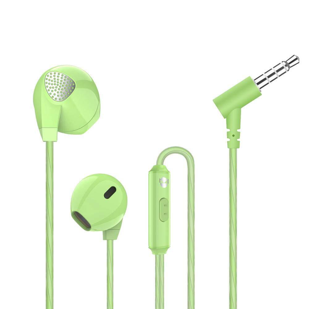 A3 Datar Telinga Headphone Dinamis HIFI Demam Di Telinga Earphone Nirkabel Olahraga Headset 3.5 Mm Steker untuk iPhone X Samsung s8 Samsung CATATAN 8-Internasional