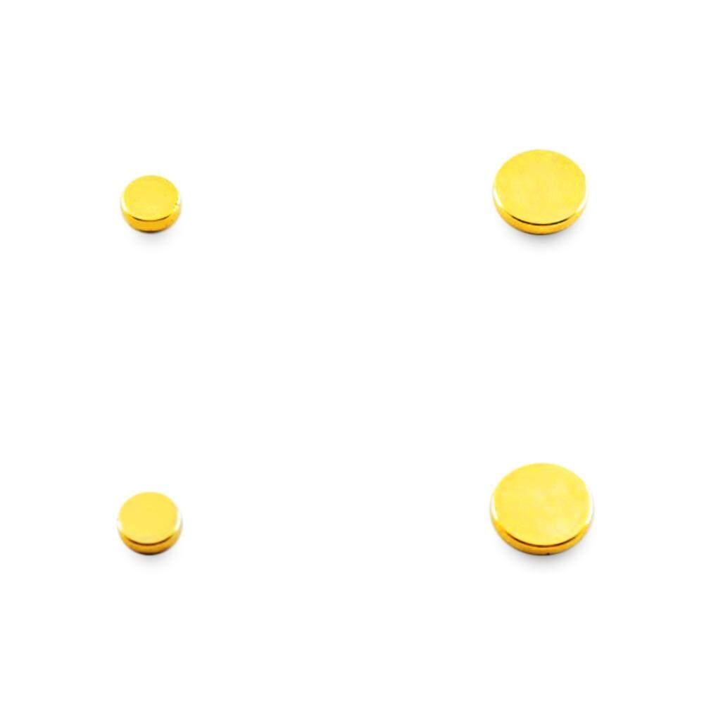 Fitur 1 Pc Weight Loss Bulat Hitam Terapi Batu Magnet Gelang Kesehatan Bio Magnetic Black Pair Slimming Acupoints Massage Health Care Stud Earrings