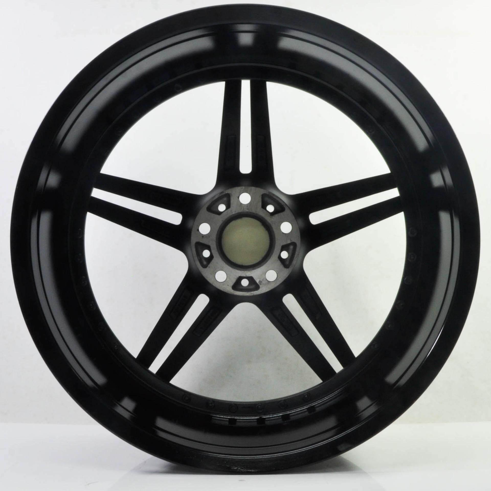 4pcs ADV1 20 inch 5X114.3 GREY LACQUER / BLACK RIVET