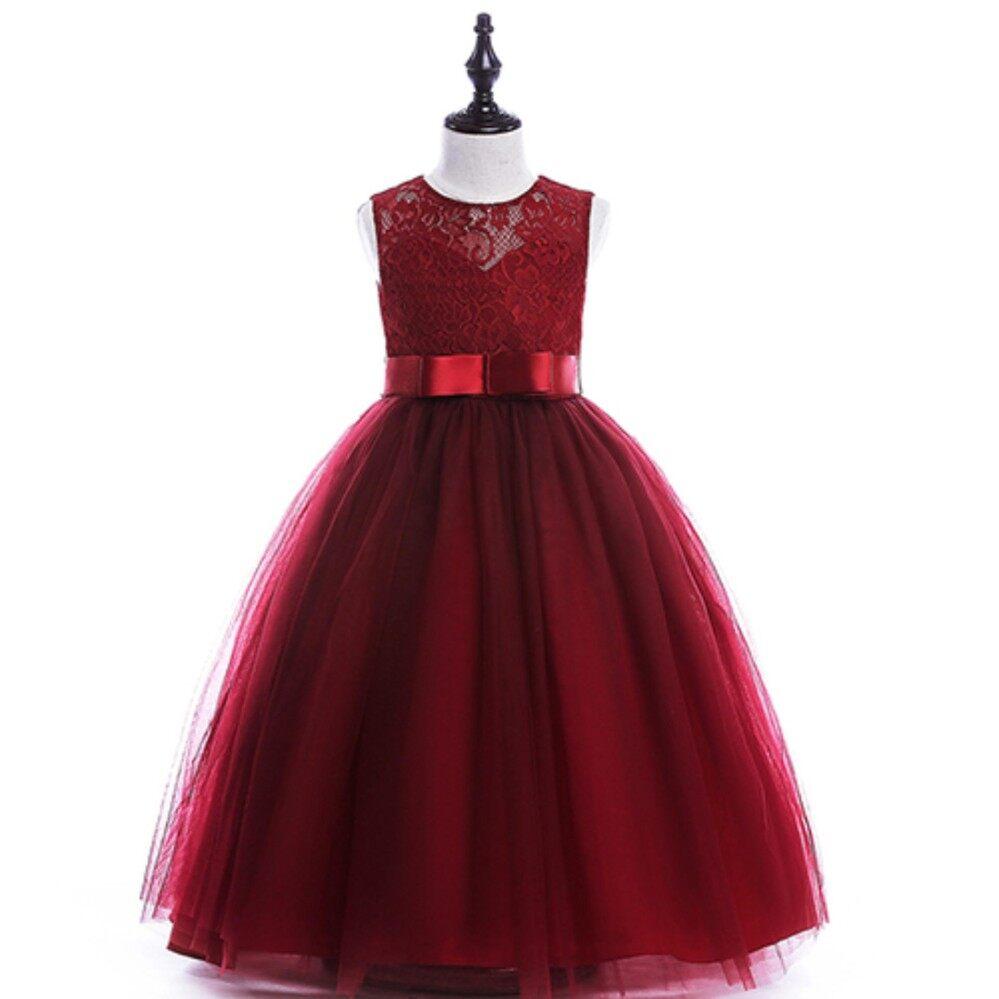 Labelledesign Hongkong Blouse Navyblue Daftar Update Harga Terbaru Source · Girls Lace Flower Bridesmaid Party Princess Prom Wedding Dress Maroon 5 14y