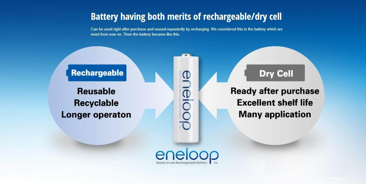 Panasonic Eneloop Basic Charger With 4 Cells Rechargeable Drybatterycelldiagramjpg 5