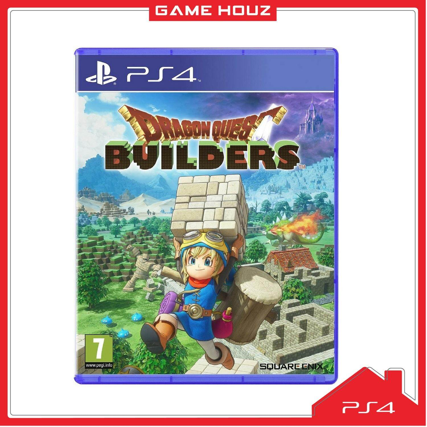 (PS4) Dragon Quest Builders (R3/ENG)