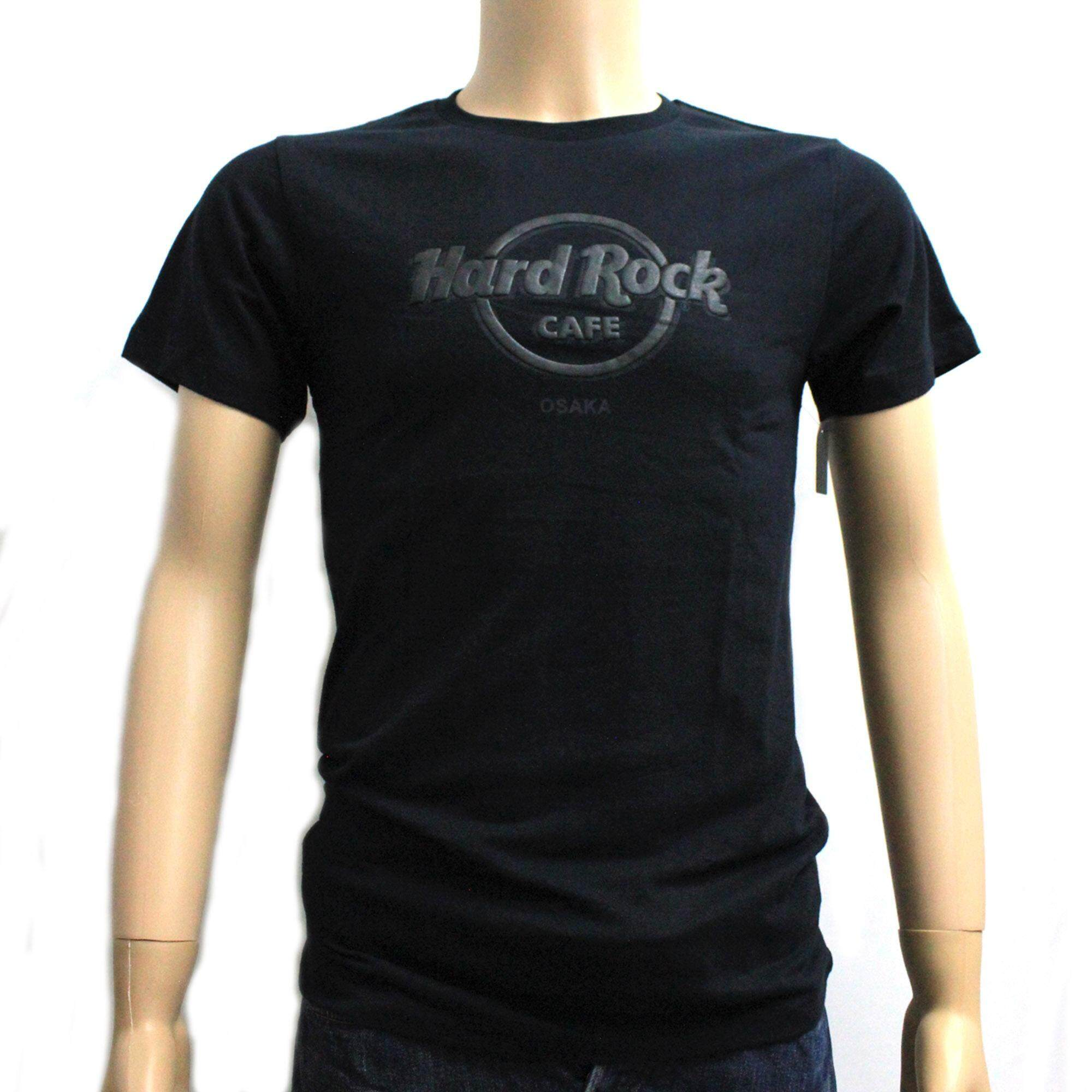 Hard Rock Cafe Mens Scan Panel Tee