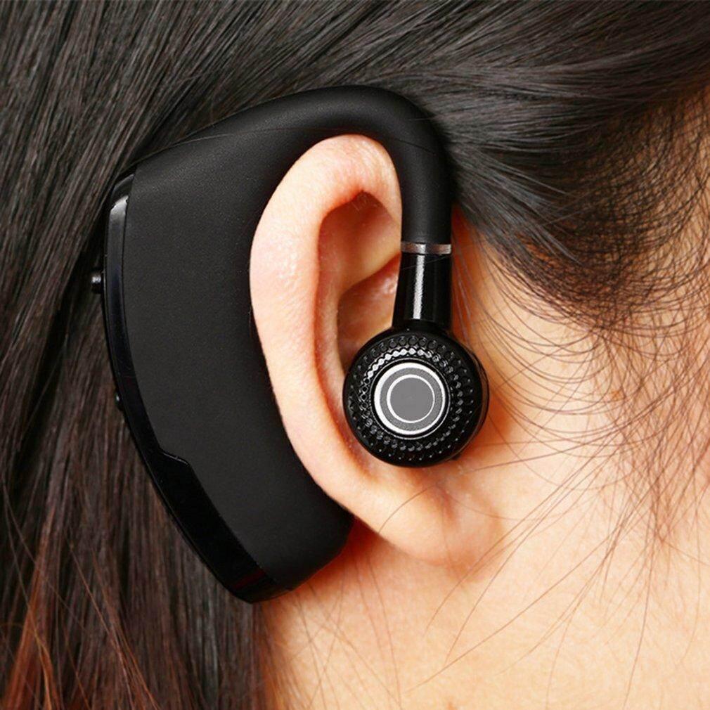 V9 Bisnis CSR Bluetooth Headset Stereo Nirkabel Hands-Free Headphone-Intl