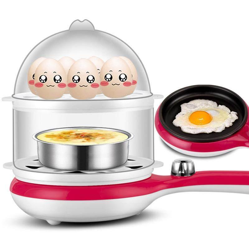 Double Small Frying Pan Omelette Egg Cooker Small Steamer Breakfast Machine Nonstick