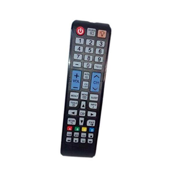 Replaced Remote Control Compatible for Samsung PN43E450A1F LT22B350ND/ZA PN43F4500AFXZA UN22F5000AF UN40EH5000F UN50EH5000F LED HDTV PLASMA TV - intl