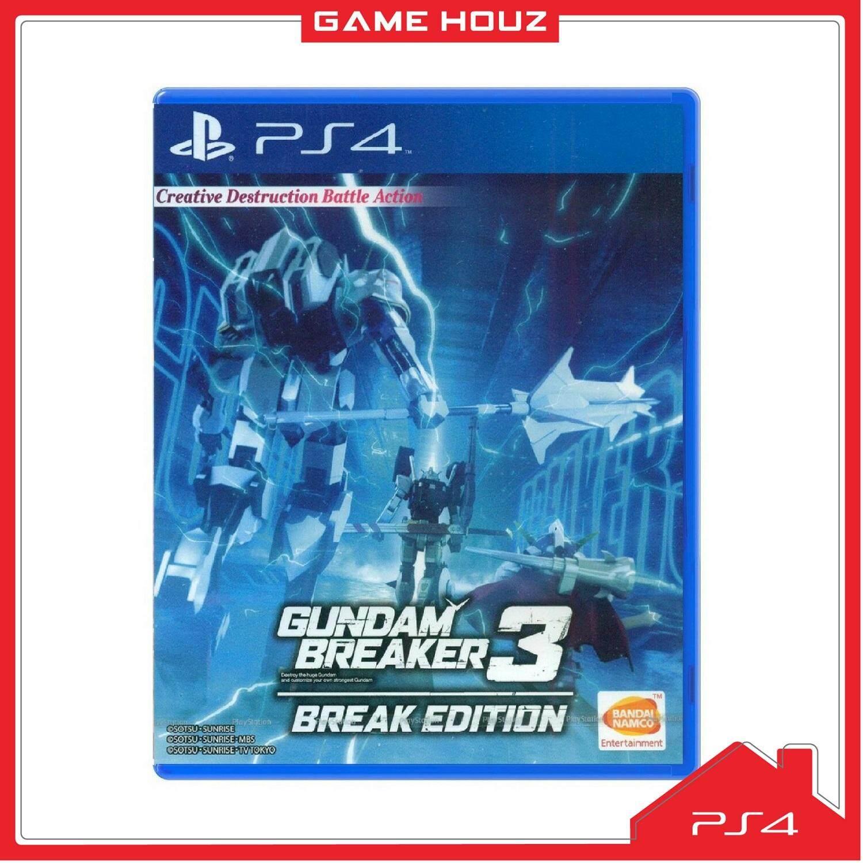 (PS4) Gundam Breaker 3: Break Edition (R3/ENG)