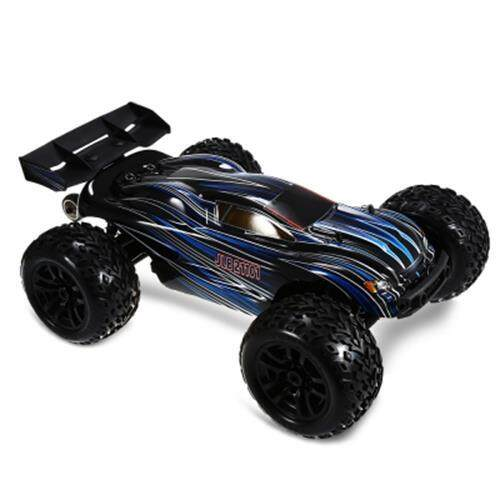 JLB RACING 21101 1:10 4WD RC BRUSHLESS OFF-ROAD TRUCK RTR 80KM/H / 3670 2500KV BRUSHLESS MOTOR / WHEELIE FUNCTION (BLACK) Toys for boys
