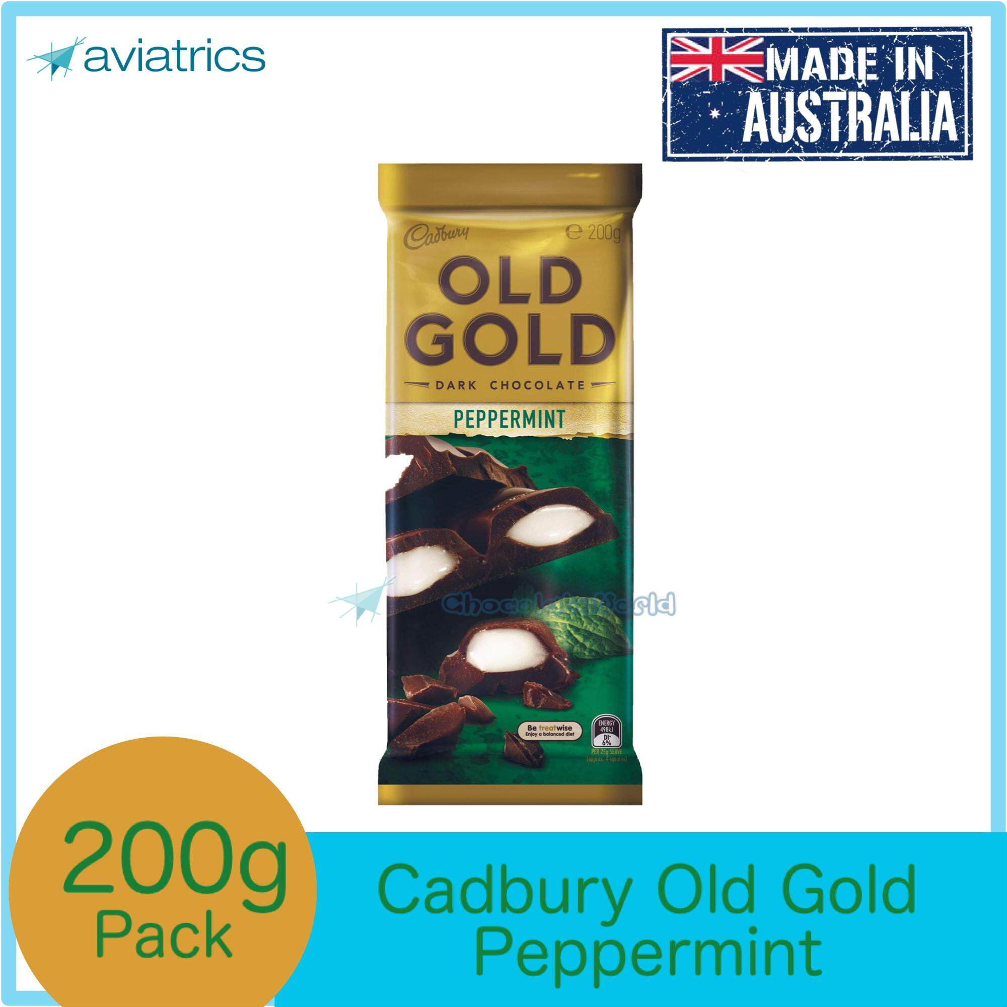 Cadbury Old Gold Peppermint 180g(Made in Australia)