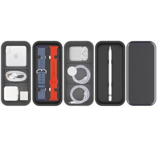 Original Function101 Bento Stack Organizer - Compatible with Apple Products and Accessories, Bento Stack, Accessories Travel Case & Workspace Organizer