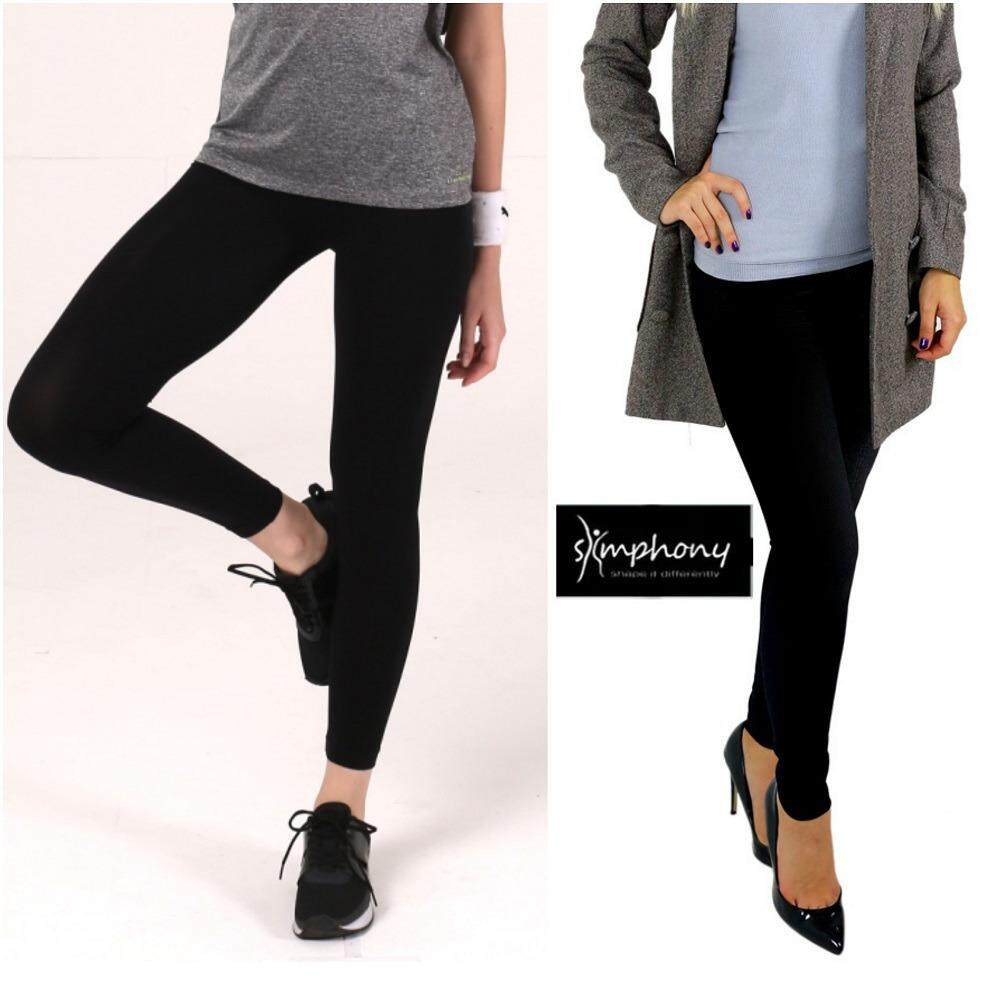 Slimphony Korean Tummy Control & Hip Up Slim Jeggings / Yoga Legging (Black)
