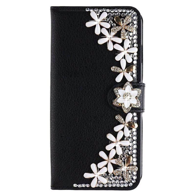 Berlian Case untuk Xiaomi Redmi 5 Case Sarung 5.7 Inci Sarung Berlian Buatan Dompet Kulit Case untuk Xiaomi Redmi 5 Hadiah layar Pelindung-Internasional