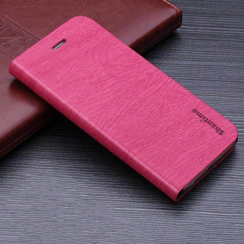 Kayu Telepon Kasus untuk Huawei P8 Lite 2015 Casing Kulit Butir Kayu Lipat Sarung untuk Huawei P8 Lite 2015 Antik dompet Tas Ponsel-Internasional