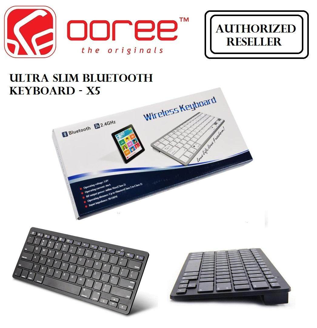 Genuine Ultra Slim Wireless Bluetooth Keyboard X5 For iOS/Android/Windows Malaysia