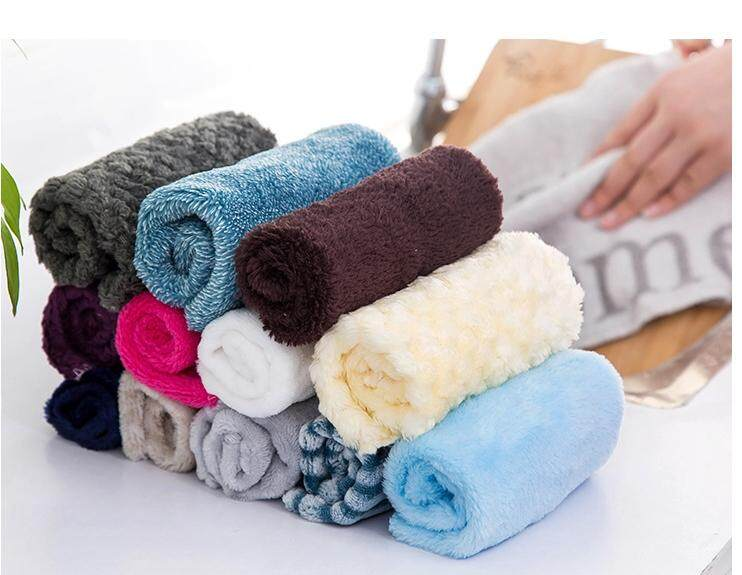 10 Pieces Anti-grease Cloth Bamboo Fiber Washing Towel Magic Kitchen Cleaning Wiping Rags Microfiber kitchen Dish Towels