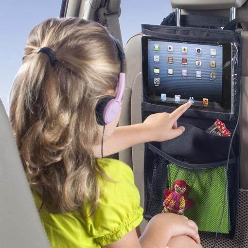 Kursi Mobil Mummy Tas Gantung Anak Ipad Palet Komputer Tablet dengan Anak Perjalanan-Internasional