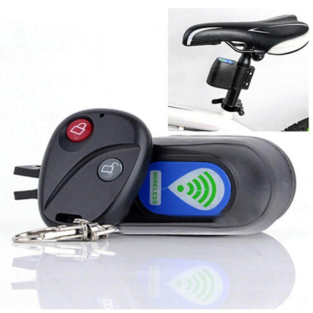 Wireless Alarm Lock Bicycle Bike Security System With Remote Control Anti-Theft radocie