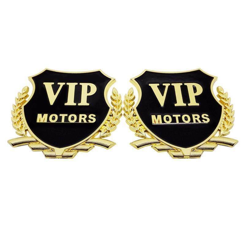 Car Styling Accessories Decoration Alloy Metal Sticker with VIP Logo Auto Emblem Badge for Proton Mazda BMW Peugeot Ford Honda Audi KIA Cadillac - intl